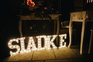30cm svítící písmena SLADKE