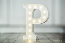 30cm písmeno P