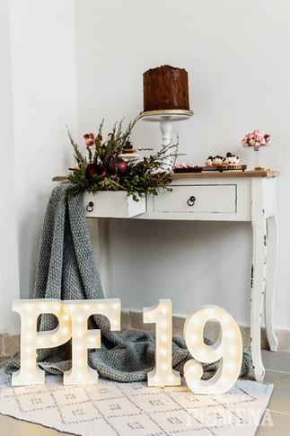 30cm svítící číslice a písmena