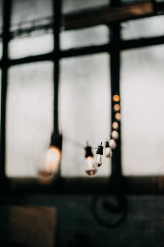 Led světelné napojovací řetězy s čirými žárovkami