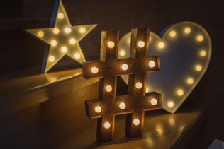 30cm svítící symboly