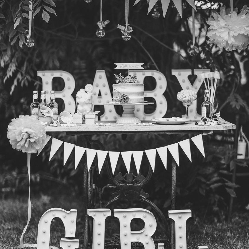 Nápis BABY GIRL