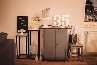 30cm svítící číslice 35