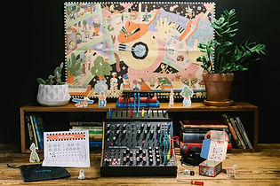 Moog Sound Studio includes all the equipment, cables, accessories, and educational tools needed to enter the world of analog synthesis for the first time or continue to explore sound in an immersive new way. Now shipping, find an authorized Moog dealer near you.  Source: Moog Music