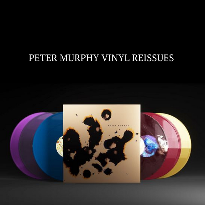 Peter Murphy Announces 6 ReIssues on Limited Colored Vinyl + Collectors Box-Set /500 Worldwide