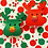 Thumbnail: Red and Green Reindeer Lollipops (Pack of 10)