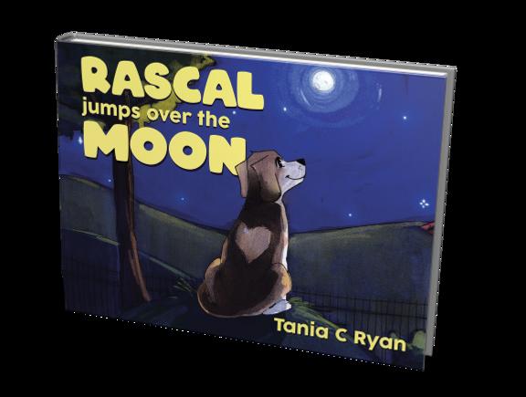 Tania C Ryan - Rascal Jumps over the Moon