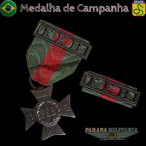 Medalha de Campanha da Feb - 2ª Guerra Mundial 1944