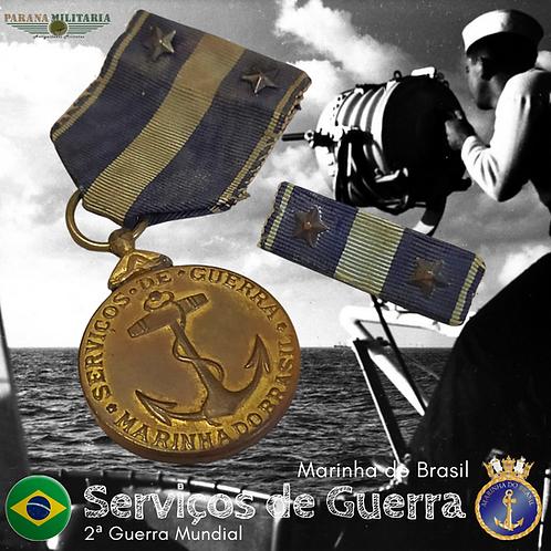 Medalha de Serviços de Guerra da Marinha - 2ª Guerra Mundial