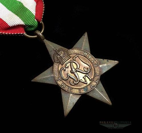 Estrela Inglesa Campanha da Itália -  2ª Guerra Mundial