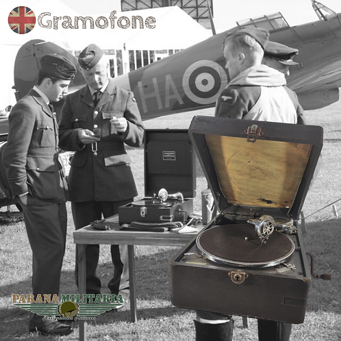 Gramofone Inglês - 2ª Guerra Mundial