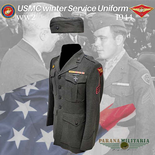 "Uniforme de Serviço ""Marines"" – 2ª Guerra Mundial"