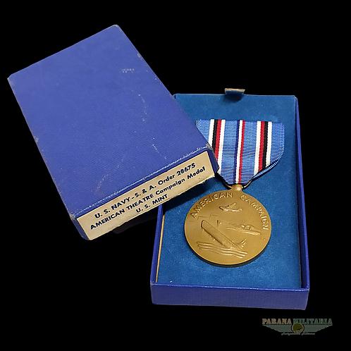 Medalha de Campanha Americana - 2ª Guerra Mundial