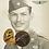 Thumbnail: Insígnias Colarinho e Dispensa Honrosa - Médico 2ª Guerra