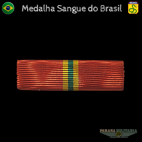 Barreta medalha Sangue do Brasil  FEB - 2ª Guerra Mundial