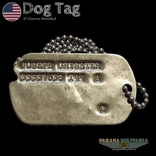 "Dog Tag 1944 ""Joseph"" - 2ª Guerra Mundial"