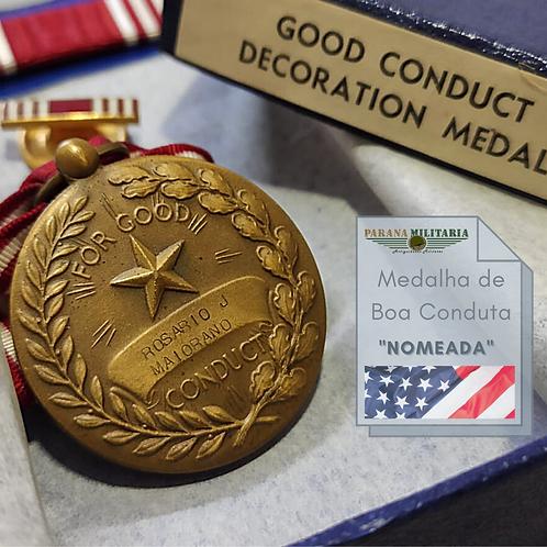 "Medalha de Boa Conduta ""Nomeada"" - 2ª Guerra Mundial"