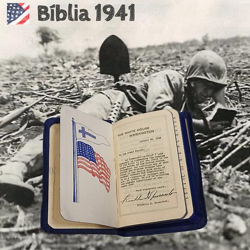 Bíblia de Bolso Soldado EUA - Ano 1941
