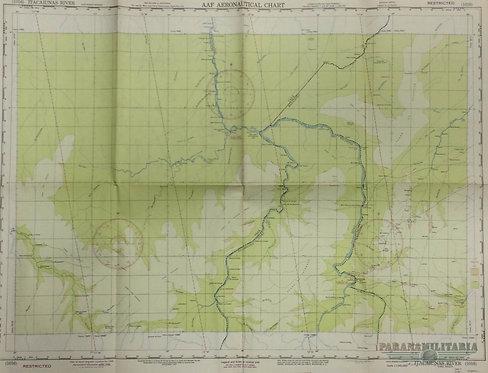 Mapa Aeronáutico 1944 - Região Brasileira