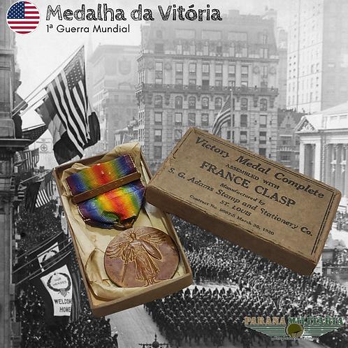 Rara Medalha da Vitória - 1ª Guerra Mundial