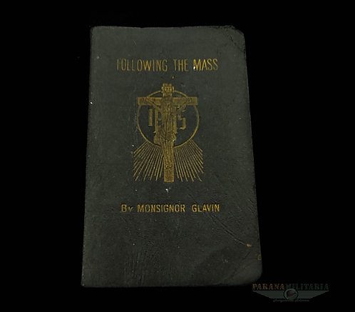 "Bíblia de Bolso devocional ""Following the mass""  ano 1940"