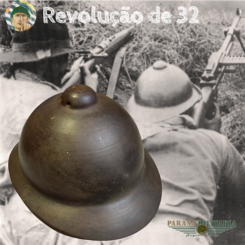 Capacete da Revolução Constitucionalista de 1932