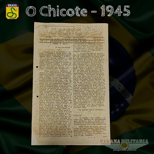"Raro Informativo ""O Chicote"" 1945 - 2ª Guerra Mundial"