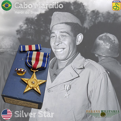Estrela de Prata - 2ª Guerra mundial