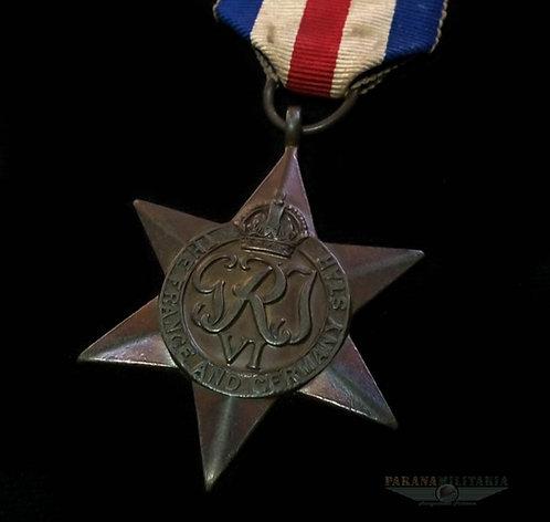 Estrela Inglesa Campanha França E Alemanha 2ª Guerra Mundial