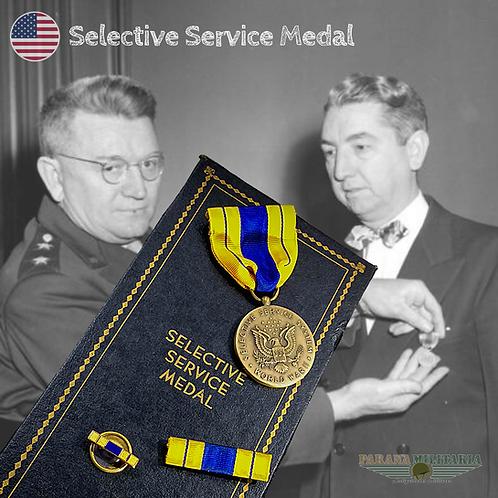 Medalha de Serviço Seletivo - 2ª Guerra Mundial