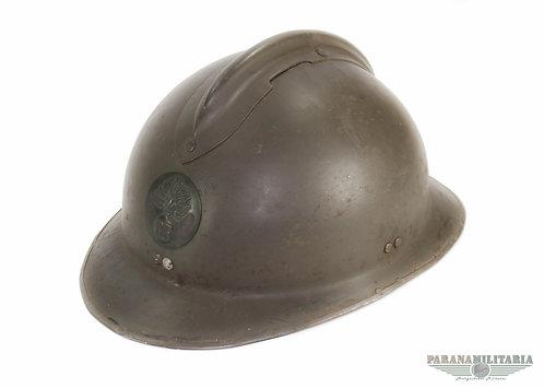 Capacete M26 Francês Infantaria - 2ª Guerra Mundial