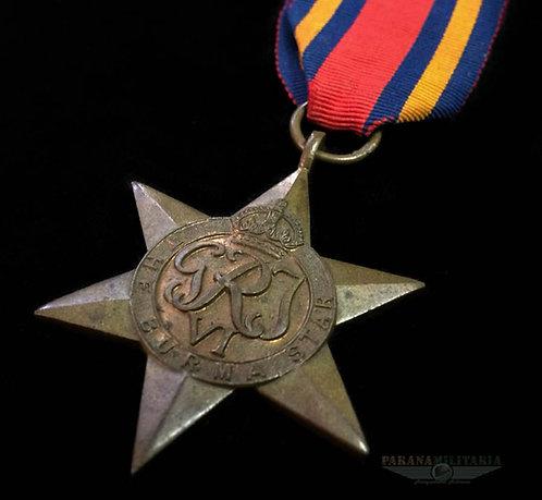 Estrela Inglesa Campanha de Burma -  2ª Guerra Mundial