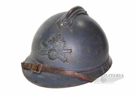 "Capacete M15 Francês Infantaria ""nomeado"" – 1ª Guerra Mundial"