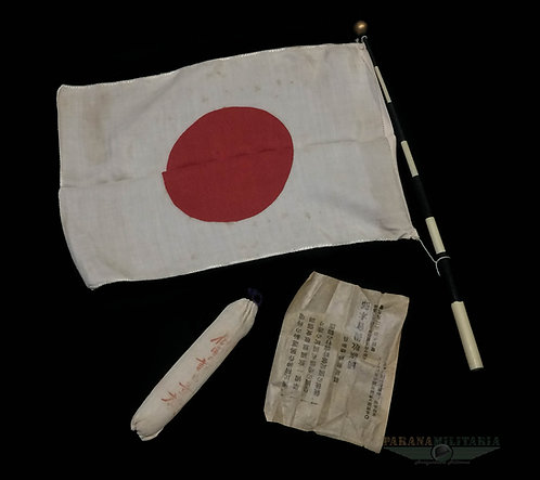Bandeira japonesa, de parada – 2ª Guerra Mundial