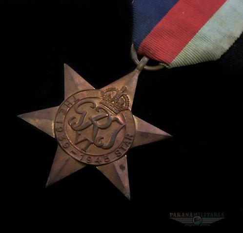 Estrela Inglesa 1939 1945 -  2ª Guerra Mundial