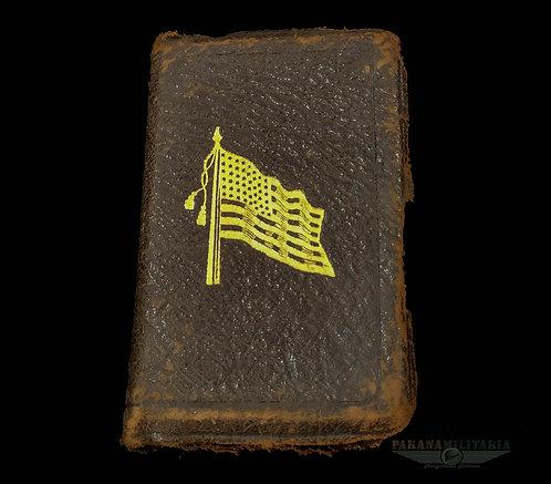 Bíblia de bolso soldado EUA - 1ª Guerra Mundial