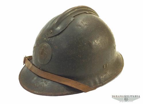 Capacete M26 de Engenheiro Francês - 2ª Guerra Mundial