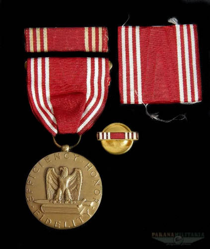 """Medalha de Boa Conduta """"Exército"""" - 2ª Guerra Mundial"""