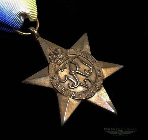 Estrela Inglesa Atlantic Star -  2ª Guerra Mundial