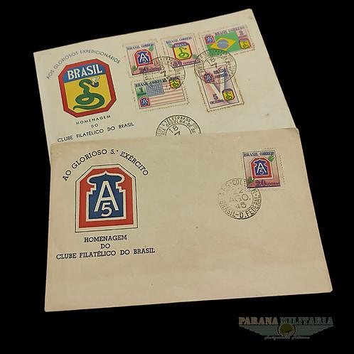 Envelopes FEB e 5º Exército 1945 - lote 1