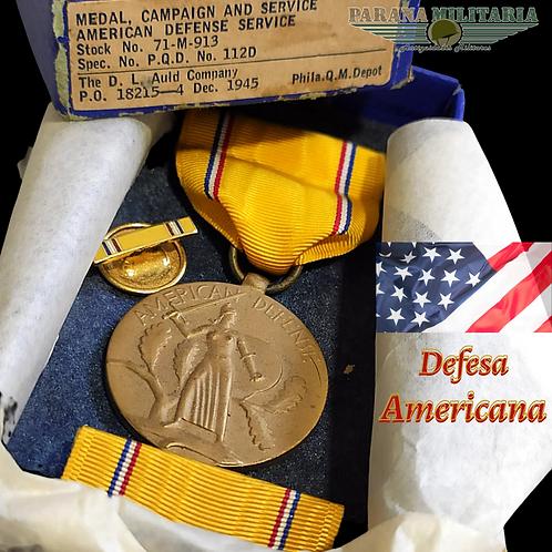 Medalha do Serviço de Defesa Americana – 2ª Guerra Mundial