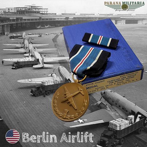 Medalha para Ação Humana -  Berlin Airlift Pós 2ª Guerra Mundial
