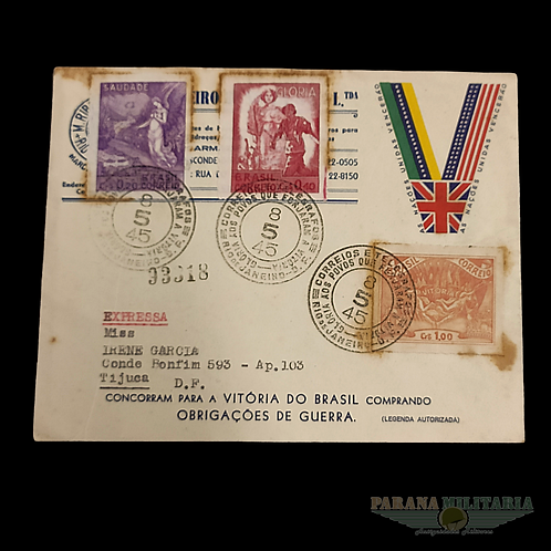 Envelope FEB 1945 - lote 9
