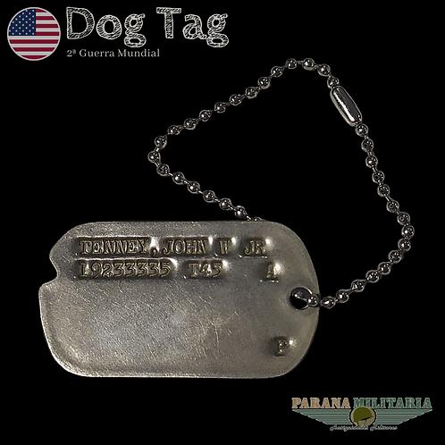 Dog Tag 1945 Paraquedista - 2ª Guerra Mundial