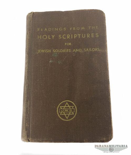 """Bíblia 1941 """"Rara Versão Judaica"""""""