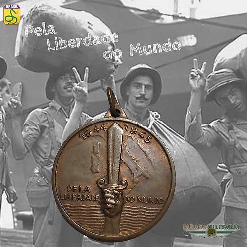 Medalha Souvenir Pela Liberdade do Mundo - 2ª Guerra Mundial