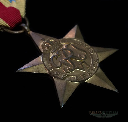 Estrela Inglesa Campanha da África -  2ª Guerra Mundial