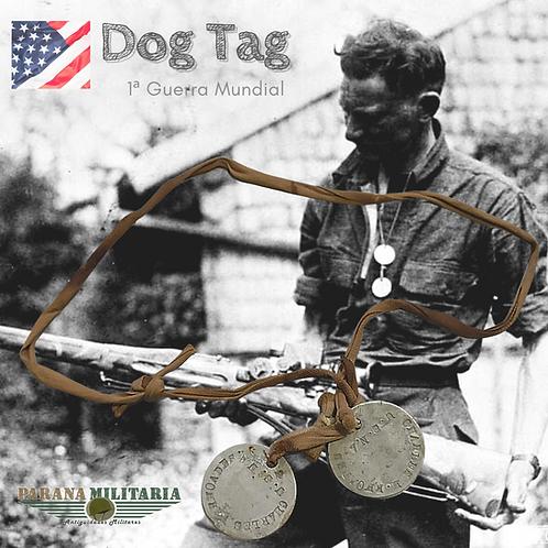 Dog Tag - Charles H. Rhoades - 1ª Guerra Mundial