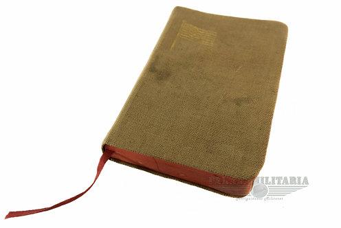 """Bíblia de Bolso Soldado EUA - """"Com 1 Ficha bar Italiano"""""""