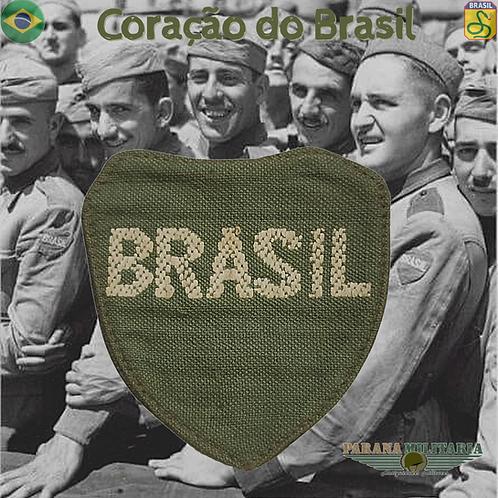 Raro Coração do Brasil FEB - 2ª Guerra Mundial